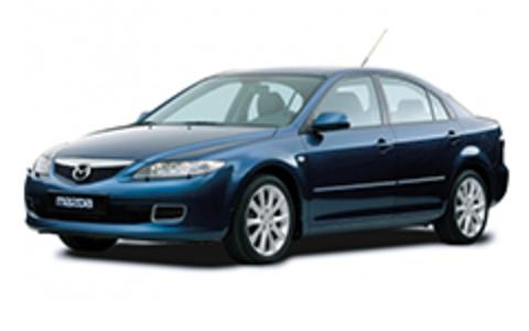 Багажники на Mazda 6 I 2002-2007 седан штатное место