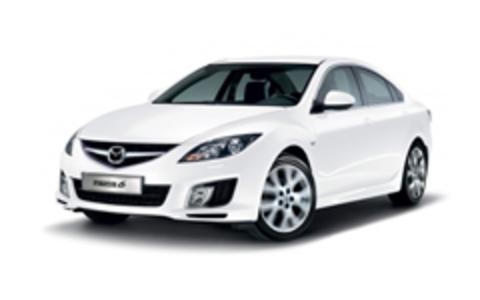 Багажники на Mazda 6 II 2007-2012 Седан штатное место