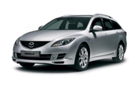 Багажники на Mazda 6 II 2007-2012 универсал рейлинги