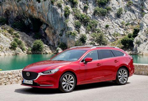 Багажники на Mazda 6 III 2012-2019 универсал рейлинги