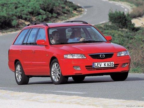 Багажники на Mazda 626 Универсал 1988-2002 рейлинги