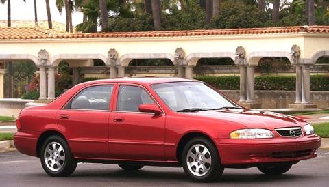 Багажники на Mazda 626 Седан 1988-2002 за дверные проемы