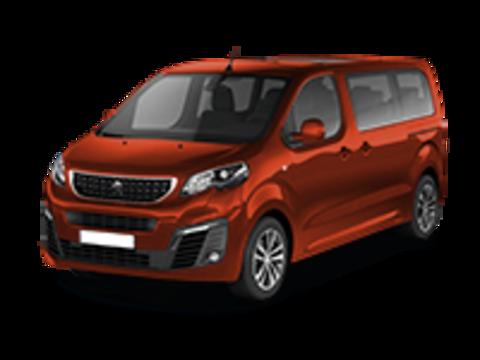 Рейлинги на Peugeot Expert/Traveller