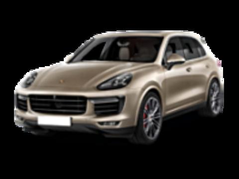 Рейлинги на  Porsche Cayenne 2010-2018