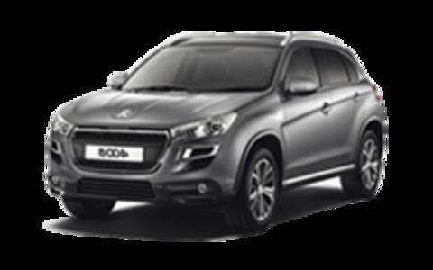 Багажники на Peugeot 4008 На низкие рейлинги 2012-2020
