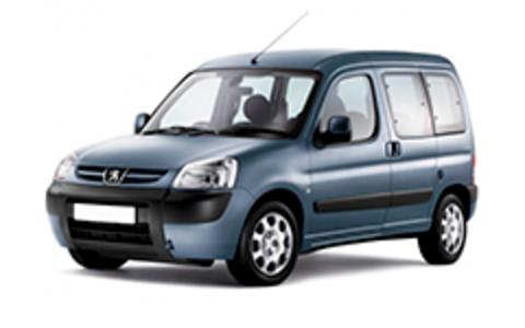 Багажники на Peugeot Partner I (Origin) 1997-2012 На штатные места