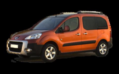 Багажники на Peugeot Partner II (Tepee) 2008-2019 на рейлинги