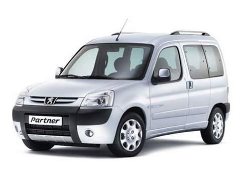 Багажники на Peugeot Partner I (Origin) 1997-2012 рейлинги