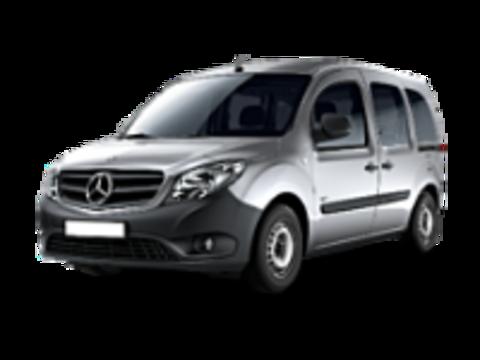 Рейлинги на Mercedes-Benz Citan 2012+