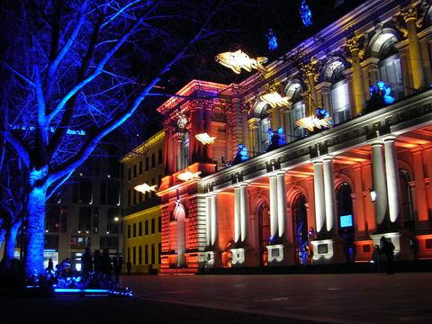 Подсветка зданий