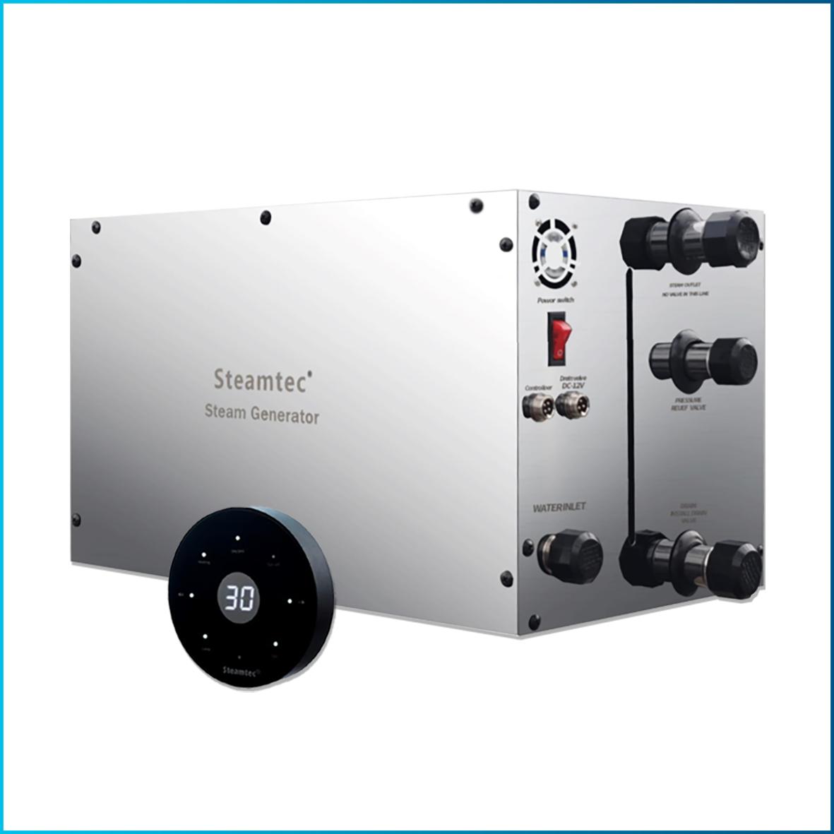 Парогенераторы Steamtec M, возможность управления несколькими парогенераторами