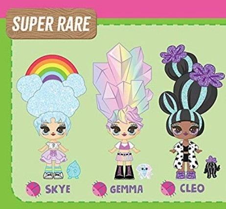 Super rare (очень редкие)