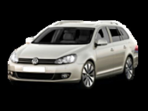 VI Багажники на Volkswagen Golf 2009-2012 универсал