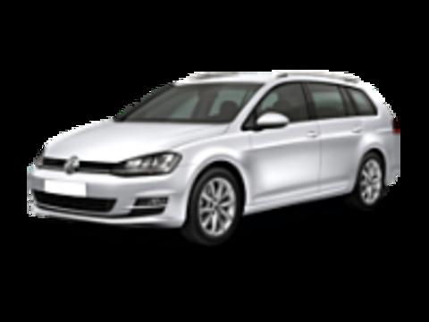 VII Багажники на Volkswagen Golf 2012-2019 Универсал