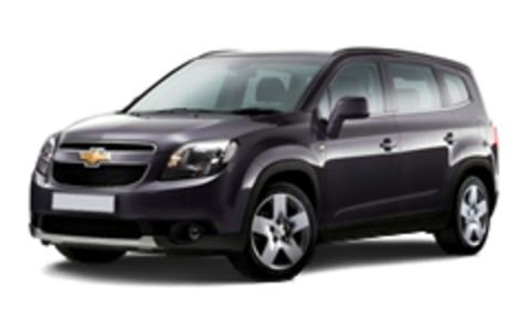 Багажники на Chevrolet Orlando
