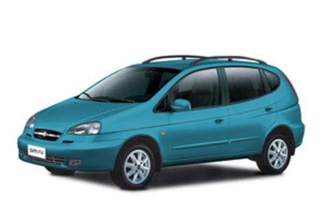 Багажники на Chevrolet Rezzo На рейлинги