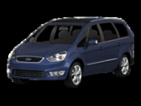 Багажники на Ford Galaxy II рестайлинг 2010-2015 низкие рейлинги
