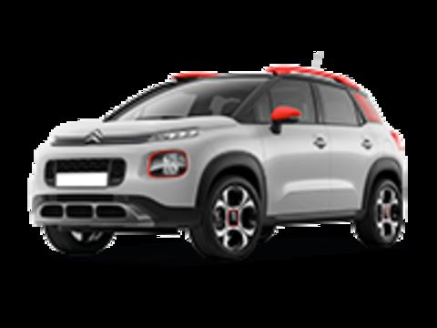 Багажники на Citroen C3 Aircross 2017-2019 на рейлинги