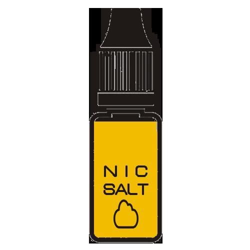 Жидкости на солевом никотине (salt)