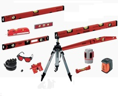 Лазерный инструмент и уровни