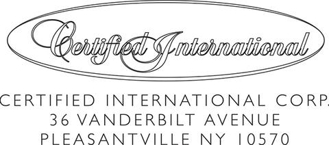 Certified Internaitional (USA)