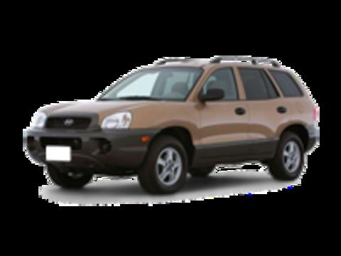 Багажники на Hyandai Santa Fe I 2000-2006 на рейлинги