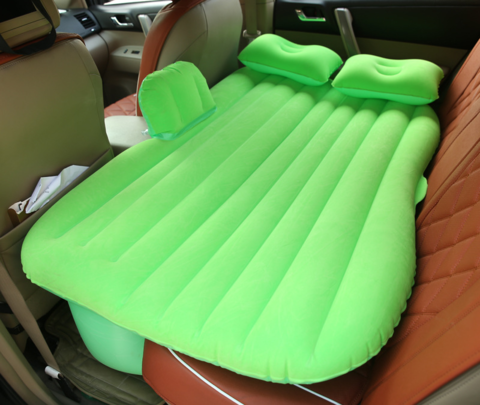 Надувной матрас в машину (на заднее сиденье)