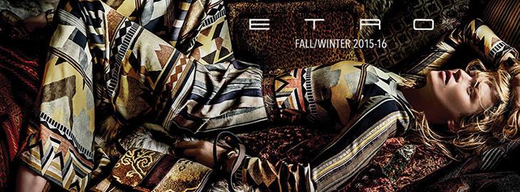 Etro коллекция осень-зима 2015-2016
