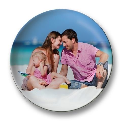 печать фото на тарелке онлайн