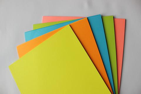 Печать на цветной бумаге Петергоф