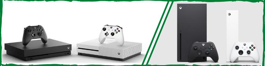 Xbox: Игровые консоли