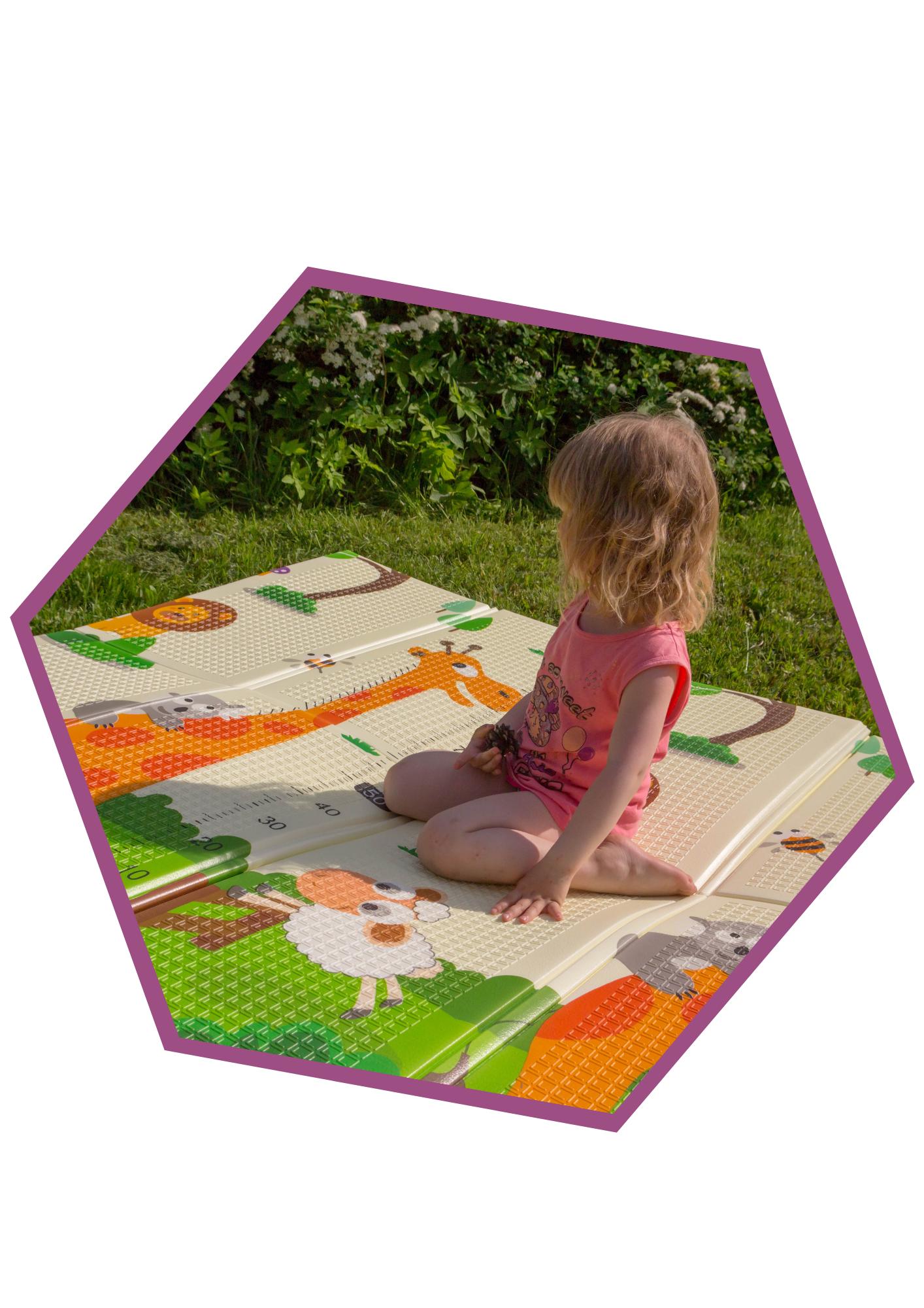 Складные игровые коврики для детей