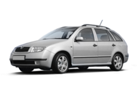 I Багажники на Skoda Fabia 2000-2007 универсал