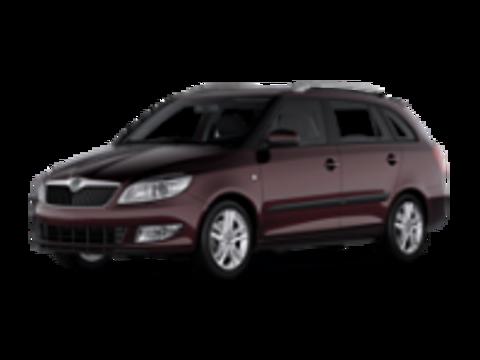 II Багажники на Skoda Fabia 2007-2014 универсал