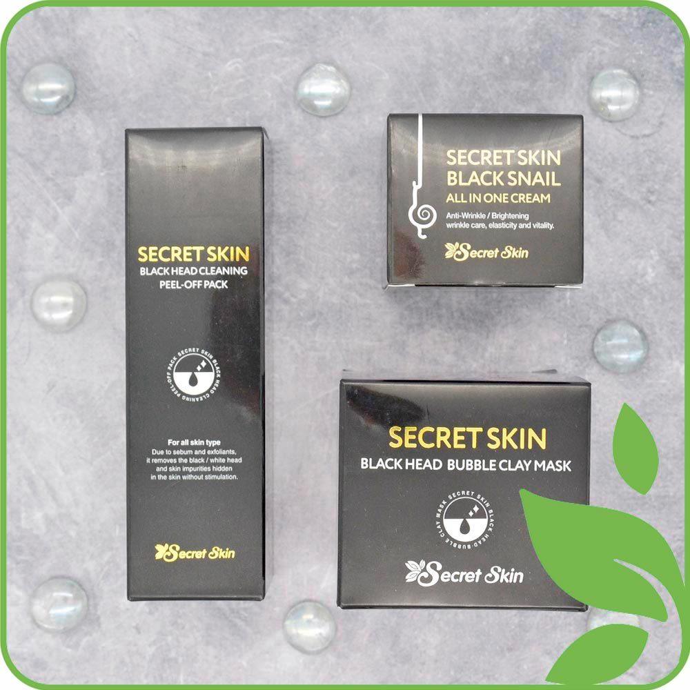 Серия Black Secret Skin