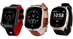 Видеочасы и часы-телефоны с GPS