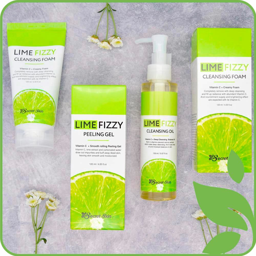Серия Lime Fizzy Secret Skin