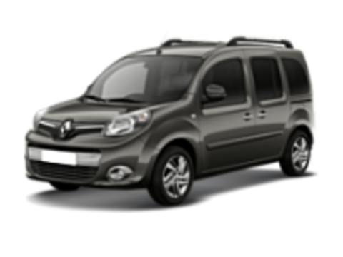 Багажники на Renault Kangoo  II 2008-2019 на рейлинги