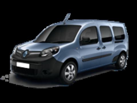 Багажники на Renault Kangoo  II 2008-2019  штатные места