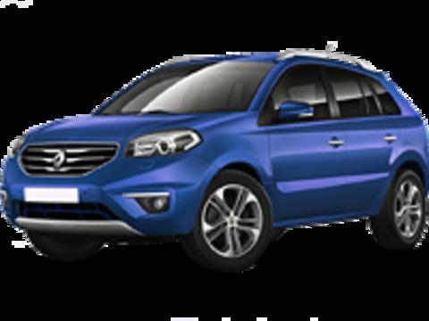 Багажники на Renault Koleos I 2008-2016 на рейлинги