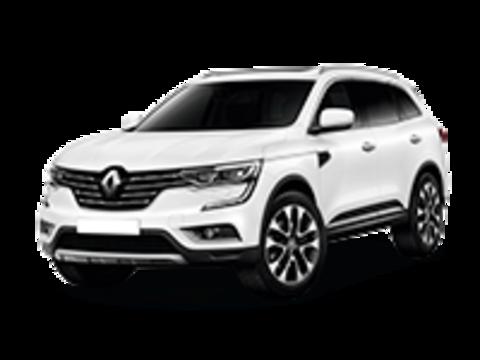 Багажники на Renault Koleos II 2016-2019 низкие рейлинги