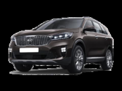 Багажники на Kia Sorento III (Prime) низкие рейлинги 2017-...