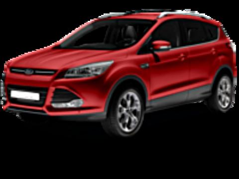 Багажники на Ford Kuga II 2012-2019 на рейлинги