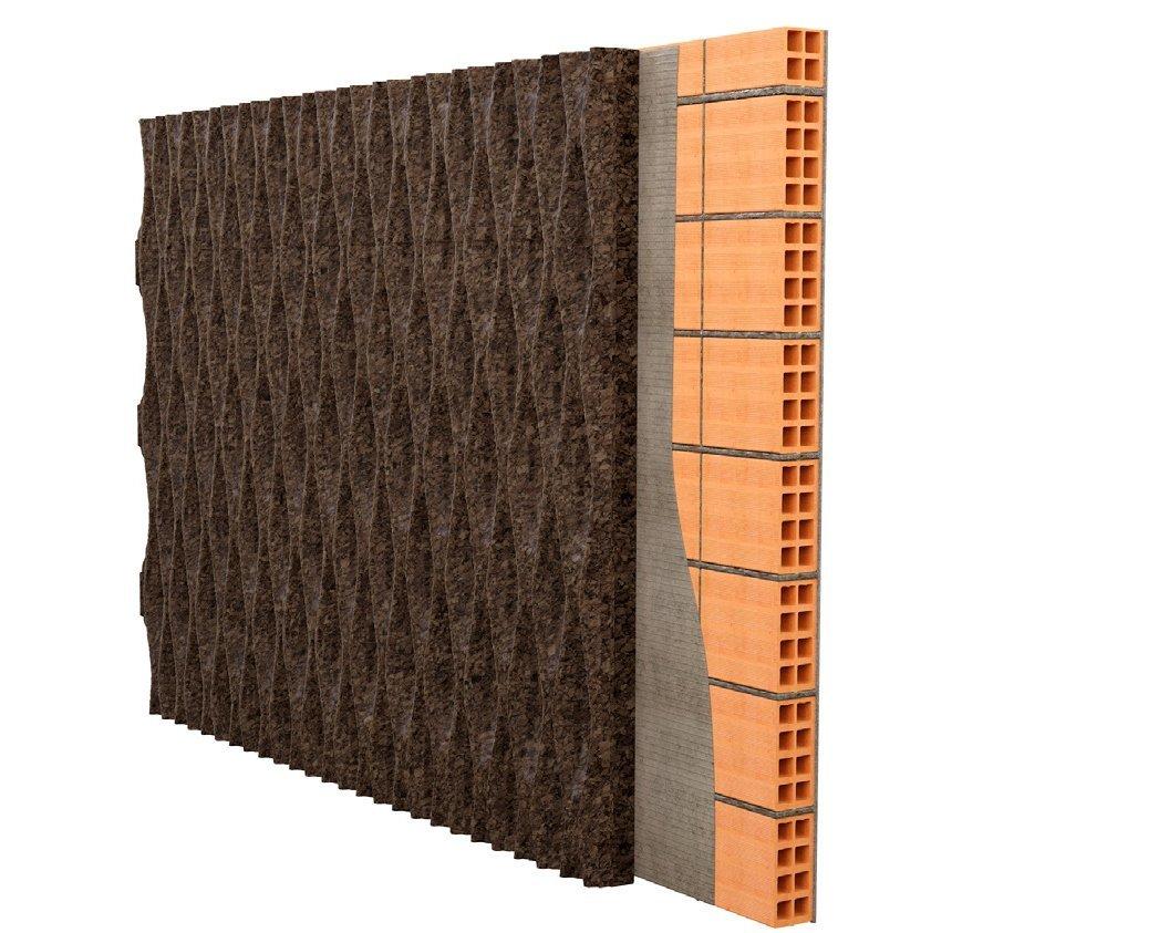 Декоративная 3D пробка MD Facade Wave L2