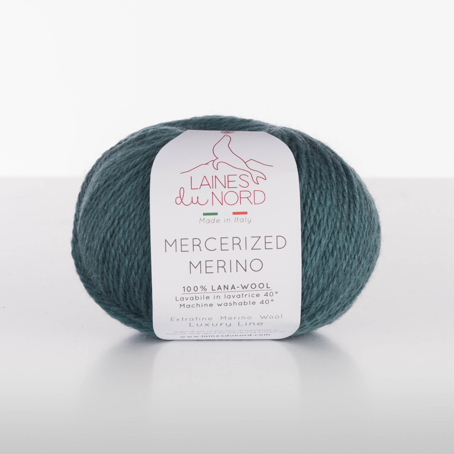 Mercerized Merino (100% шерсть, 50г/125м) 9.50 BYN