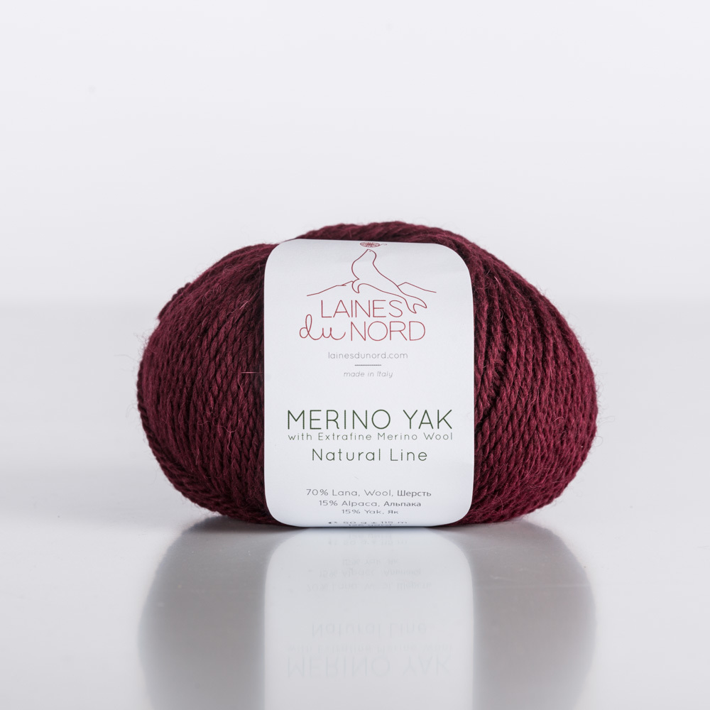 Merino Yak (70% мериносовая шерсть, 15% альпака, 15% як, 50г/115м) 12.5 BYN