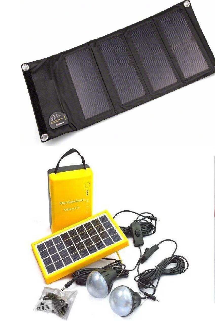 Портативные солнечные батареи