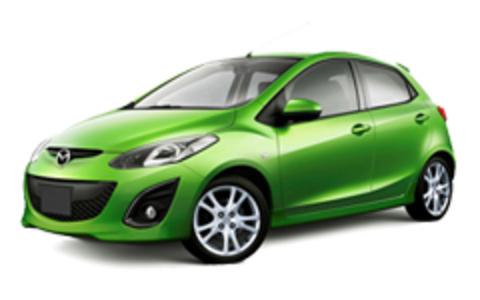 Багажники на Mazda 2 2007-2014 штатные места