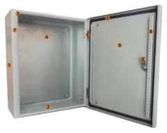 Шкафы с монтажной панелью ЩМП IP54