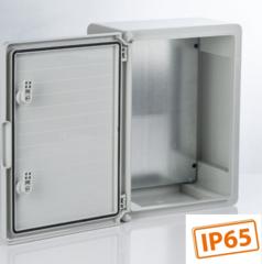 Шкафы ЩПМ IP65 (ABS, сплошная дверь)
